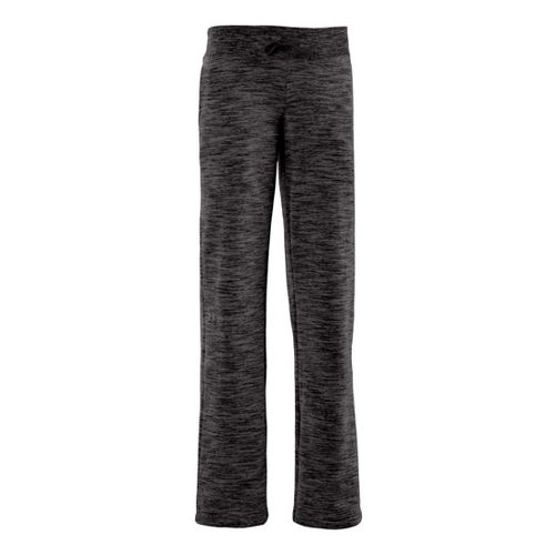 Womens Under Armour Charged Cotton Storm Marble Full Length Pants - Black/Lead XL