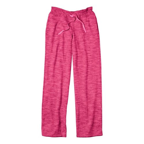 Womens Under Armour Charged Cotton Storm Marble Full Length Pants - Pinkadelic/Pinkadelic L