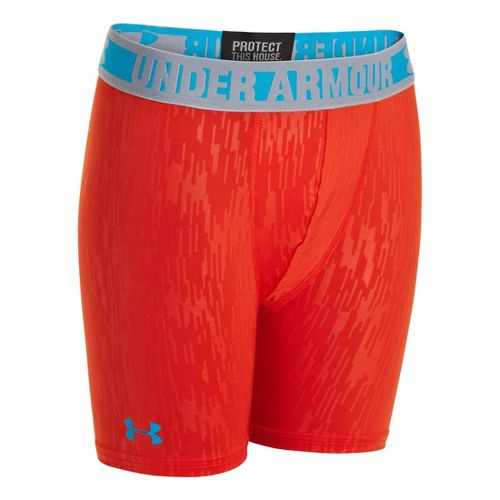 Men's Under Armour�Boys HeatGear Sonic Fitted 4