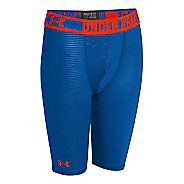 "Kids Under Armour Boys HeatGear Sonic Fitted 7"" Boxer Brief Underwear Bottoms"