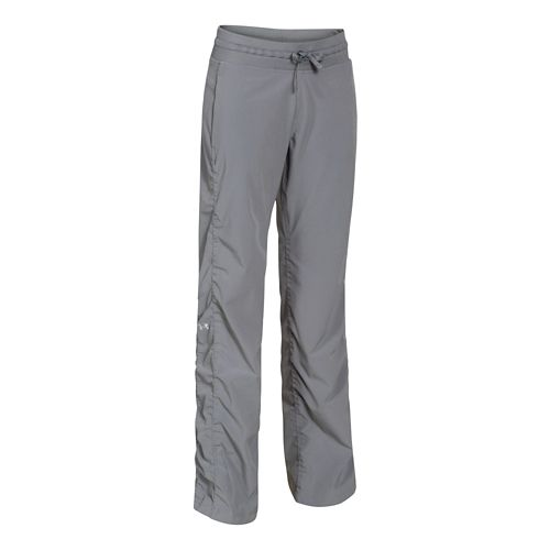 Womens Under Armour Icon Full Length Pants - Steel XS