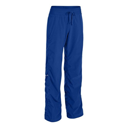 Womens Under Armour Icon Full Length Pants - Blu-Away/Reflective M