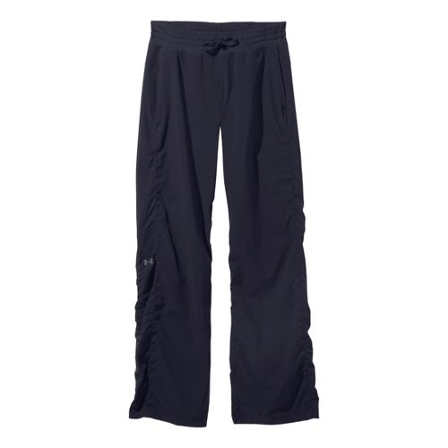 Womens Under Armour Icon Full Length Pants - Lead/Reflective L