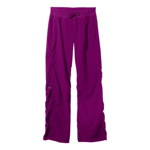 Womens Under Armour Icon Full Length Pants - Strobe/Reflective XS