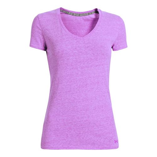 Womens Under Armour Charged Cotton Undeniable T Short Sleeve Technical Tops - Exotic ...