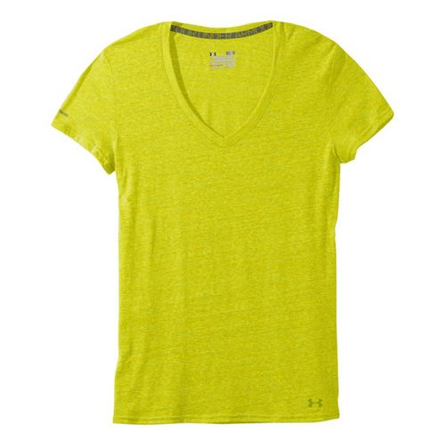 Womens Under Armour Charged Cotton Undeniable T Short Sleeve Technical Tops - Lima ...