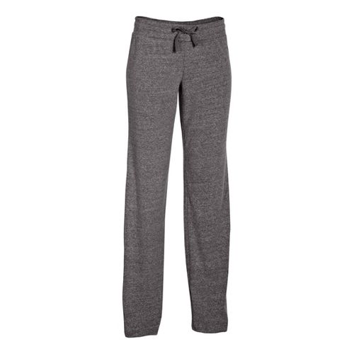 Womens Under Armour Charged Cotton Undeniable Full Length Pants - Charcoal/Graphite M
