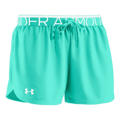 Womens Under Armour Play Up Splits Shorts - Crystal S
