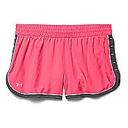 Womens Under Armour Great Escape II Lined Shorts - Pink Shock/Gray XL