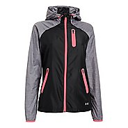 Womens Under Armour Qualifier Woven Warm-Up Hooded Jackets