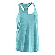 Womens Under Armour Charged Cotton Undeniable Tanks Technical Tops