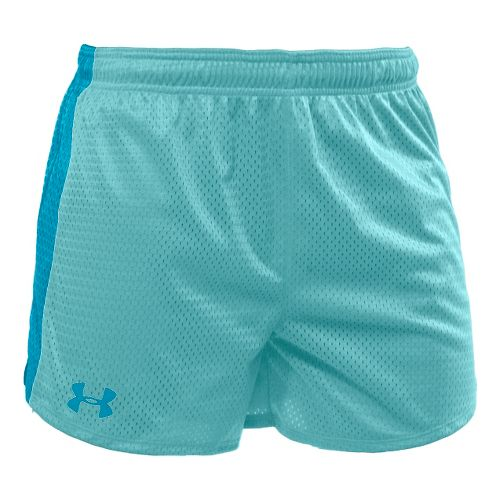 Womens Under Armour Trophy 5 Lined Shorts - Veneer/Deceit XS