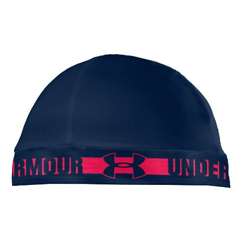 Mens Under Armour Original Skull Cap Headwear - Academy/Neo Pulse