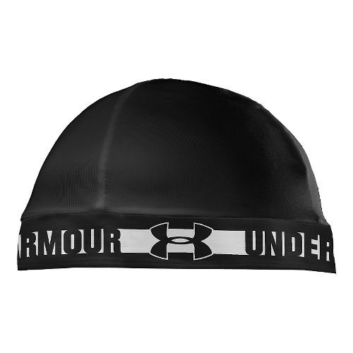 Mens Under Armour Original Skull Cap Headwear - Black/White