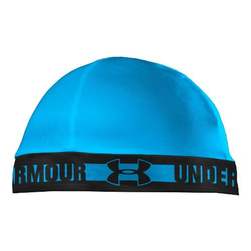 Mens Under Armour Original Skull Cap Headwear - Electric Blue/Black