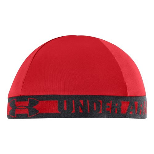 Mens Under Armour Original Skull Cap Headwear - Risk Red