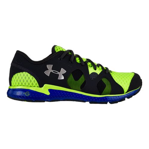 Mens Under Armour Micro G Neo Mantis Running Shoe - Hyper Green 15