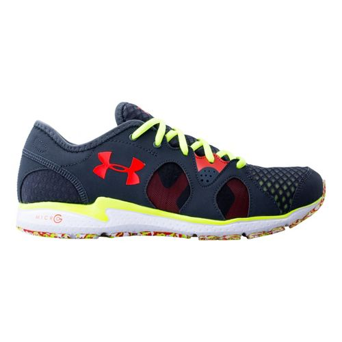 Mens Under Armour Micro G Neo Mantis Running Shoe - Lead 16