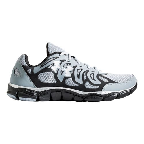 Mens Under Armour Micro G Engage Running Shoe - Gravel 9.5