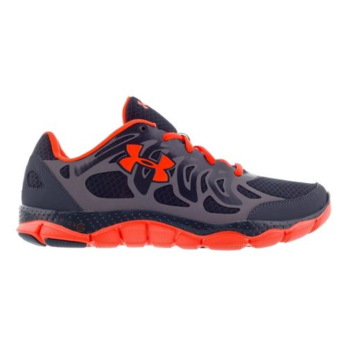 Mens Under Armour Micro G Engage Running Shoe - Lead 11.5