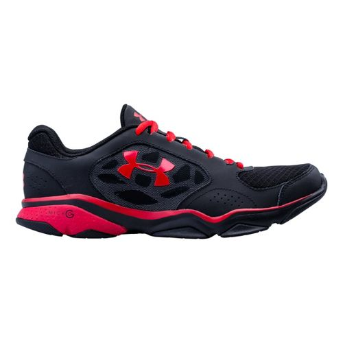 Mens Under Armour TR Strive IV Cross Training Shoe - Black/Charcoal 8