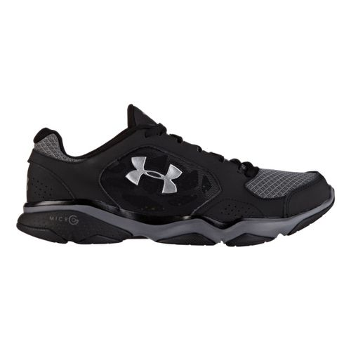 Mens Under Armour TR Strive IV Cross Training Shoe - Black/Graphite 7.5