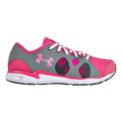 Womens Under Armour Micro G Neo Mantis Running Shoe - Cerise 10