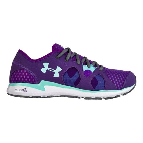 Womens Under Armour Micro G Neo Mantis Running Shoe - Plum 10.5