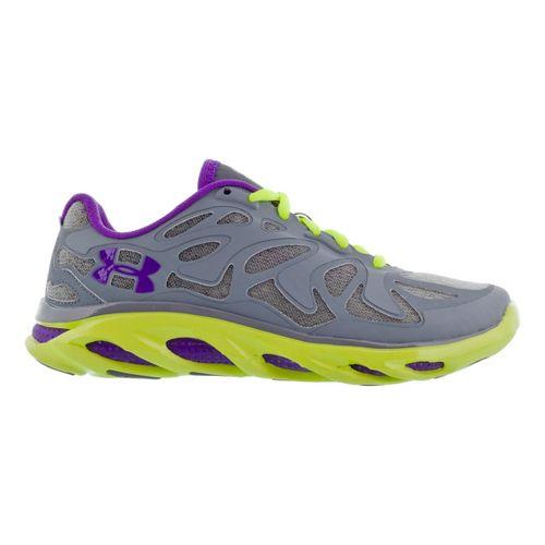 Womens Under Armour Micro G Spine Evo Running Shoe - Aluminum 9