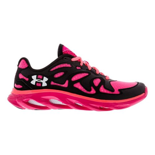 Womens Under Armour Micro G Spine Evo Running Shoe - Black 6.5