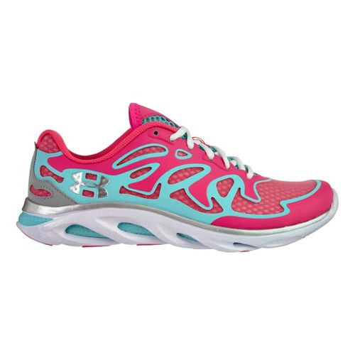 Womens Under Armour Micro G Spine Evo Running Shoe - Cerise 10