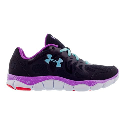 Womens Under Armour Micro G Engage Running Shoe - Black 5