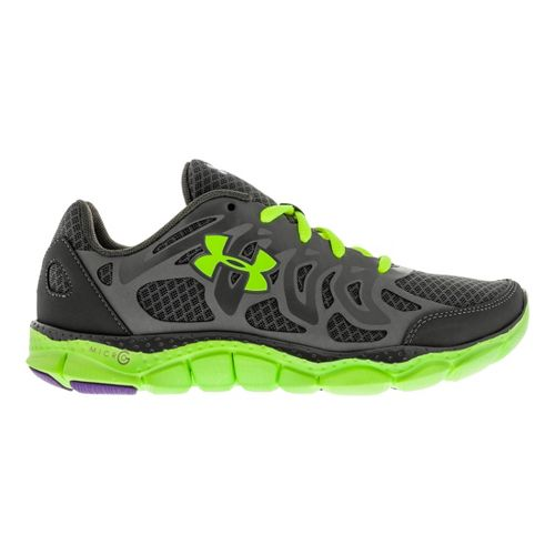 Womens Under Armour Micro G Engage Running Shoe - Charcoal 6.5