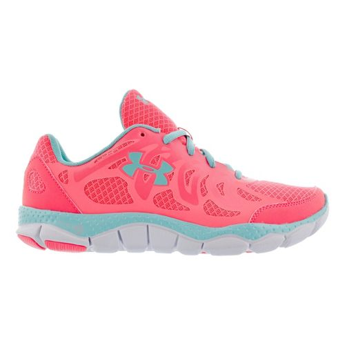 Womens Under Armour Micro G Engage Running Shoe - Coral 5.5