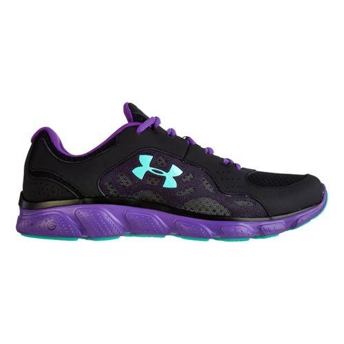 Womens Under Armour Micro G Assert IV Running Shoe - Black 9