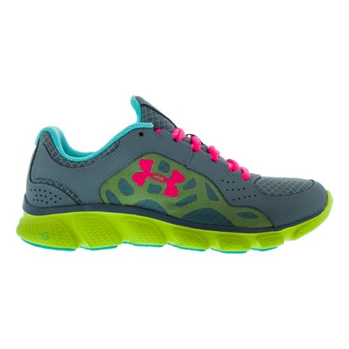 Womens Under Armour Micro G Assert IV Running Shoe - Graphite 8