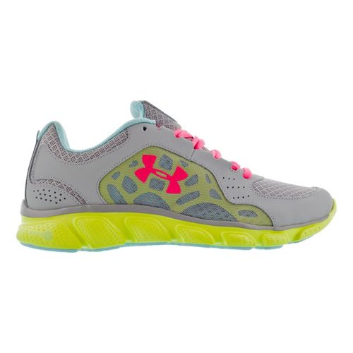 Womens Under Armour Micro G Assert IV Running Shoe - Steel 10