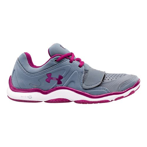Womens Under Armour Micro G Renegade Cross Training Shoe - Gravel/White 9.5