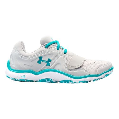 Womens Under Armour Micro G Renegade Cross Training Shoe - Aluminum 10.5