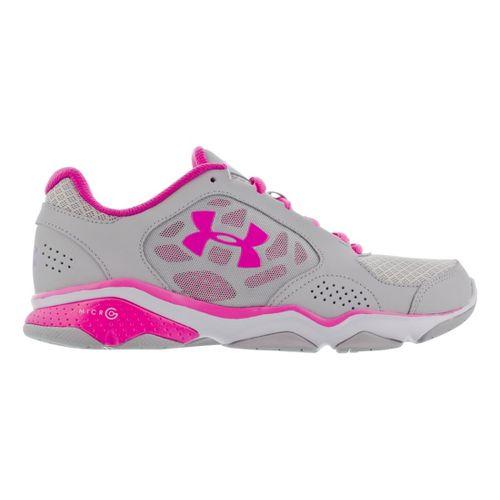 Womens Under Armour Strive IV Cross Training Shoe - Aluminum 10.5