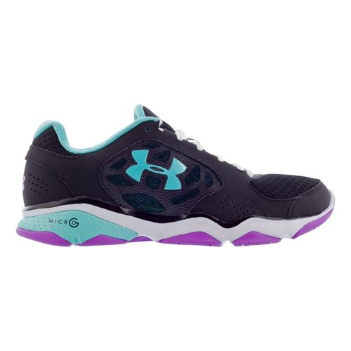 Womens Under Armour Strive IV Cross Training Shoe - Black 10.5