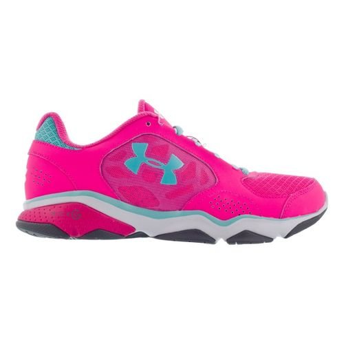 Womens Under Armour Strive IV Cross Training Shoe - Cerise 7