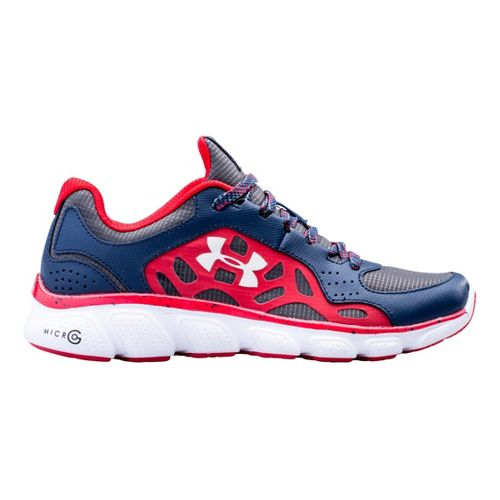 Kids Under Armour Boys GS Micro G Assert IV Running Shoe - Academy 4.5