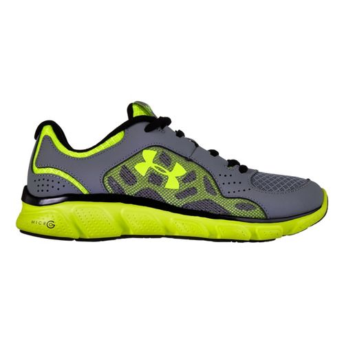 Kids Under Armour Boys GS Micro G Assert IV Running Shoe - Graphite 4