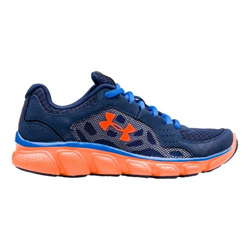 Kids Under Armour Boys PS Assert IV Running Shoe - Academy 12