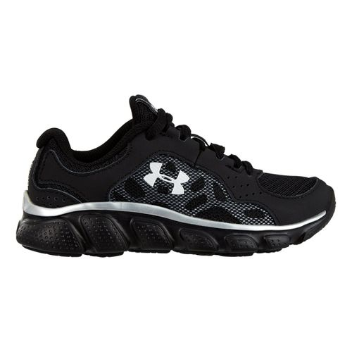 Kids Under Armour Boys PS Assert IV Running Shoe - Black 12