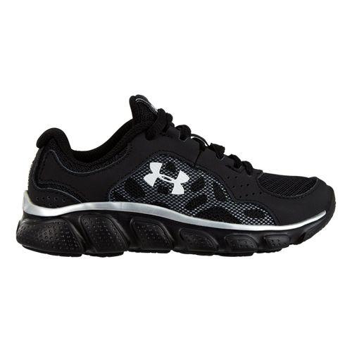 Kids Under Armour Boys PS Assert IV Running Shoe - Black 12.5