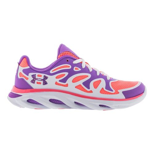 Kids Under Armour Girls GS Micro G Spine Evo Running Shoe - Exotic Bloom 4 ...