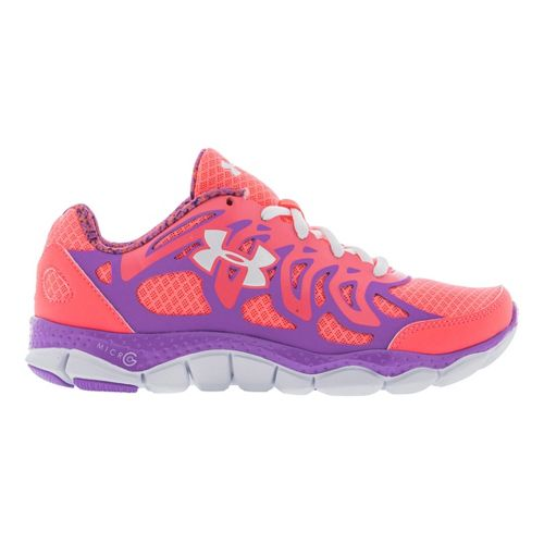 Kids Under Armour Girls GS Micro G Engage Running Shoe - Brilliance 5.5