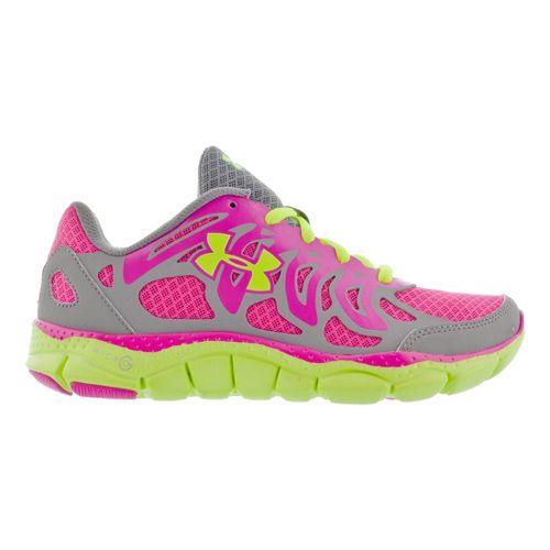 Kids Under Armour Micro G Engage Running Shoe - Steel 7Y